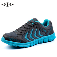 Strips Men Running Shoes Spring Sport Boy Gray Black New Athletic Sneakers Outdoor Breathable Trainers 36