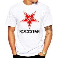 T Shirt Men Funny Tee Shirts Short Sleeve Men Classical Big Star Rockstar T Shirt Energy Design Custom Retro Clothing