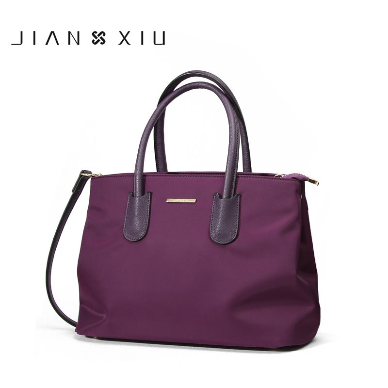 JIANXIU Brand Casual Handbags Women Messenger Bags Bolsa FemininaTassen Nylon Waterproof Shoulder Crossbody Tote Bag Sac a Main jianxiu brand fashion women leather handbags crocodile pattern messenger bags sac a main small shoulder crossbody bag chain tote