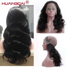 13 * 4 Lace Front Human Hair Parykker For Kvinder Brazilian Body Wave Lace Frontal Paryk Pre Plucked With Baby Hair Remy Hair Black Color