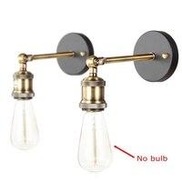 Vintage Edison Style Pendant Wall Lamp Set Retro Finished Wall Sconces Lamp E26 E27