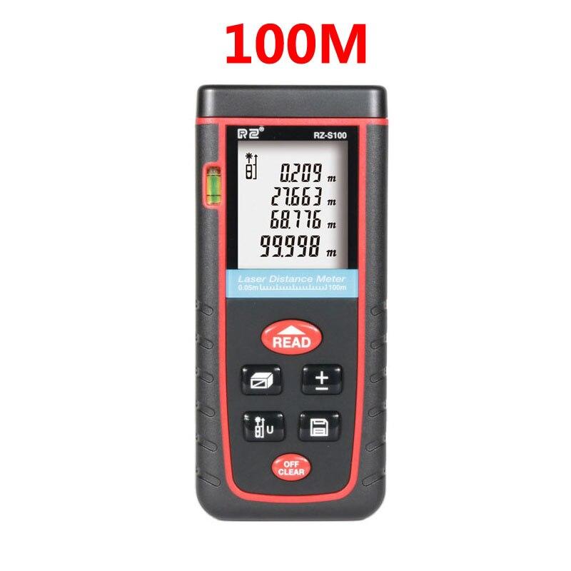 Télémètre laser 40M 60M 80M 100M télémètre trena laser ruban télémètre construire mesure dispositif règle outil de test