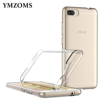 Soft Transparent TPU Silicone Bag Back Cover Phone Case For Asus Zenfone 4 Max ZC520KL ZC ZC520 520 520KL KL Asus X00HD Case 5.2 image