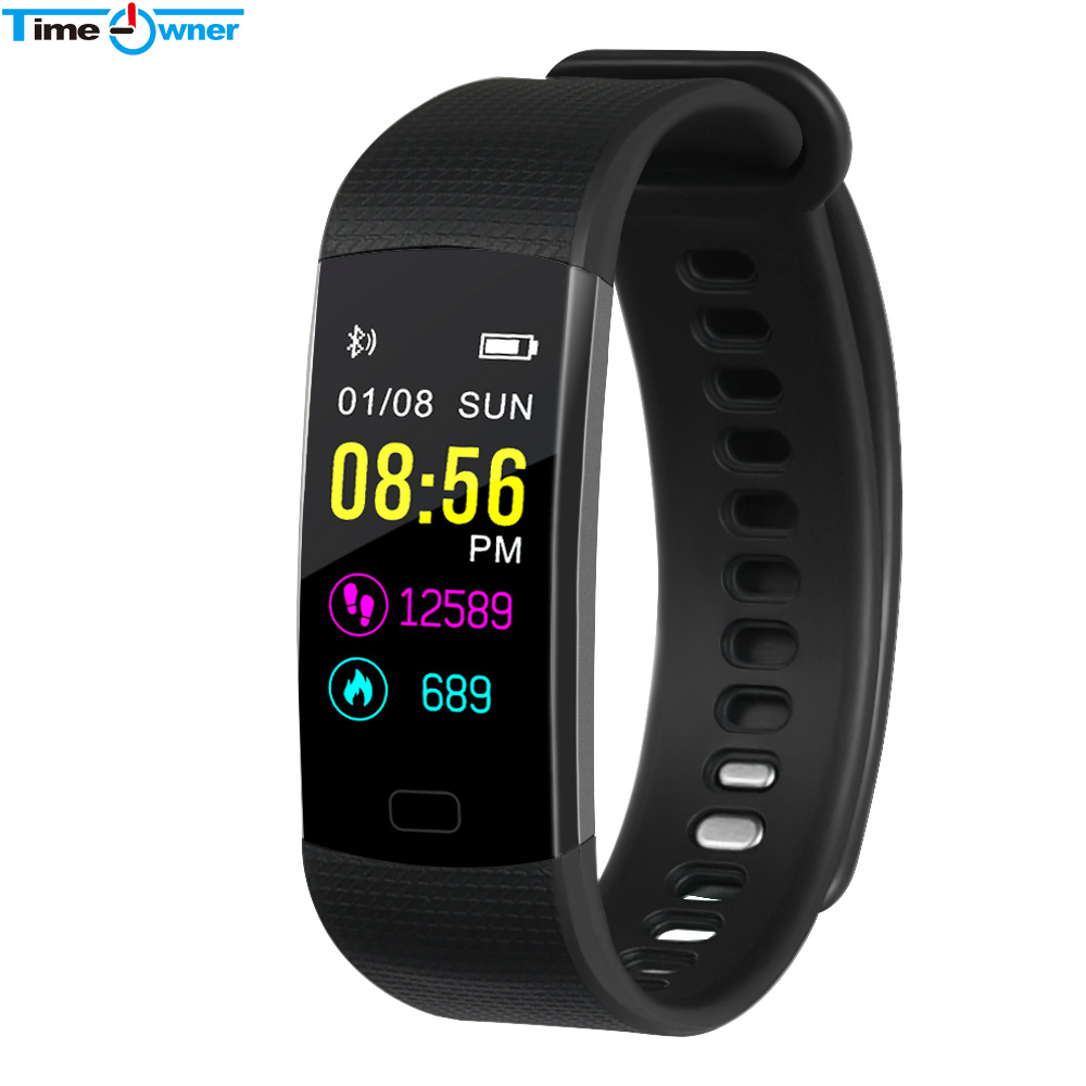 TimeOwner Smart Bracelet Pedometer Heart Rate Monitor Blood Oxygen Fitness Tracker Smart Wristband Push Message Alarm Clock Band-in Smart Wristbands from Consumer Electronics on Aliexpresscom  Alibaba Group