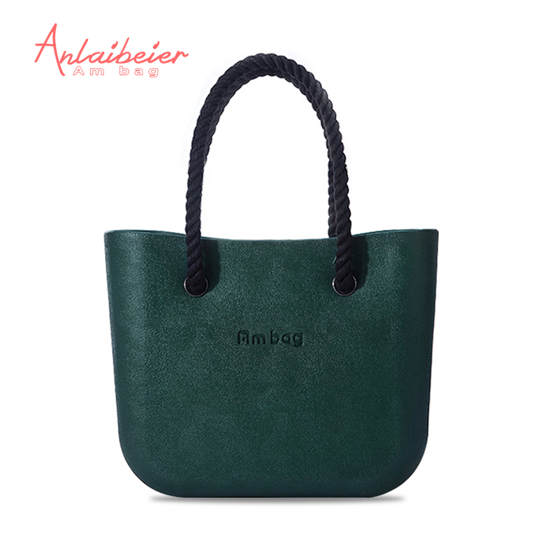 ANLAIBEIER Big Classic women's bags handbag fashion obag style AMbag with handles O lady EVA Waterproof bag  DIY many colours mini mid size 30cm x 10cm x 28cm o bag obag style ambag body women s fashion eva handbag