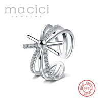 Adjustable Sun Accessories 925 Sterling Silver Rings For Women New 2016 Fashion Party Jewelry