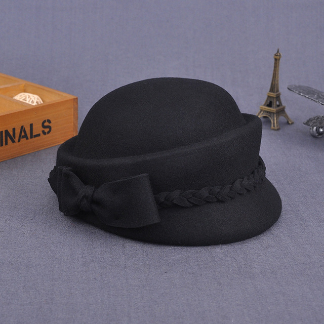 Pure Wool Felt Fedora Hats...