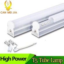 T5 โคมไฟหลอด LED 20W LED T8 หลอดบาร์โคมไฟ 5W 9W 10W 30 ซม.60 ซม.2ft 300mm 600mm T5 ไฟ LED แสงสีขาวเย็น