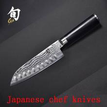 2016 XY 8″inch chef knives high quality fashion Japanese VG10 Damascus steel kitchen knife with Micarta handle Free shipping