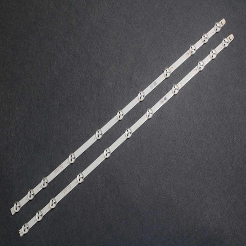 Tira de LED para iluminación trasera para chaleco de 32 pulgadas REV0.2 VES315WNDS-01 32HXC01U 32D1333DB, 2 uds., 11 leds, 575mm, VES315WNDL-01