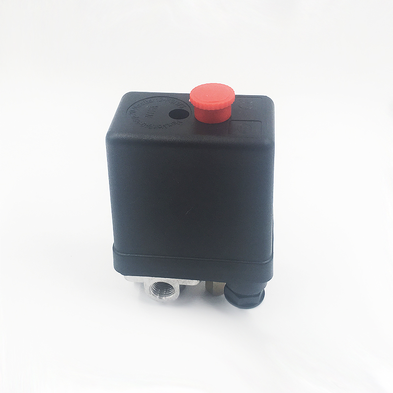 Image 3 - 240V AC Regulator Heavy Duty Air Compressor Pump Pressure Control Switch 4 Port Air Pump Control Valve 7.25 125 PSI with Gauge-in Pneumatic Parts from Home Improvement