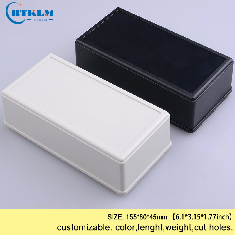 Plastic box enclosure diy abs junction box  for electronic project 155*80*45mm wire connection box design Desktop speaker boxPlastic box enclosure diy abs junction box  for electronic project 155*80*45mm wire connection box design Desktop speaker box