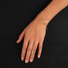 Gold Alloy Women Leaf Rhinestone Bracelet 2019 New Fashion 7 Styles Chain Bracelet For Party Jewelry Valentine's Gift Dropship