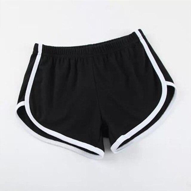 Fashion Stretch Waist Casual Shorts Woman High Waist Black White Shorts Beach Sexy Short Women'S Clothing 3