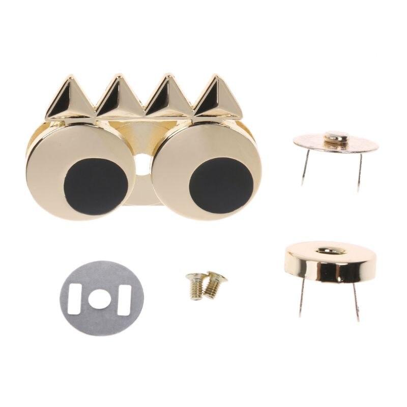 DIY Metal Cute Eye Clasp Turn Twist Lock For Handbag Craft Shoulder Bag Purse Hardware Parts