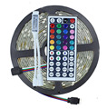 DC12V 5M/Lot IP65 Waterproof 5050 60Leds/M RGB Led Strip + 44key Mini IR Remote Controller / Single Color Without Controller