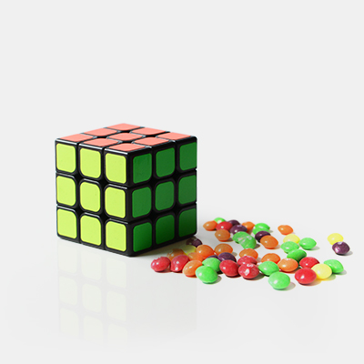 цена на Candy to Cube Magic Tricks Object Appearing Magia Magician Close Up Gimmick Props Illusion Mentalism Funny