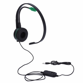 Mayitr 1 Pc Mono Casque Professionnel Unique Face Gaming Headset