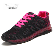 Women Sneakers 2019 New Arrivals Fashion Woman Sport Shoes Breathable Mesh Casual Running Female кроссовки