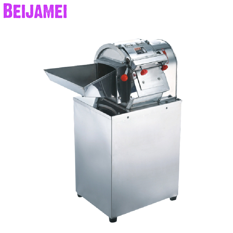 Beijamei High Efficiency Commercial Restaurant Vegetable Cutter Electric Potato Carrot Slicer Slicing Machine