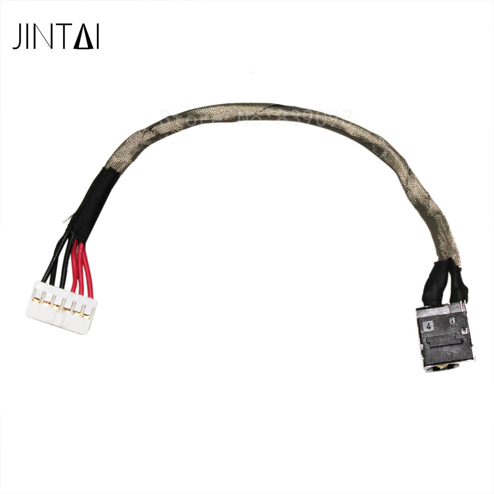 100% NEW JINTAI DC POWER JACK SOCKET CONNECTOR CABLE charging port plug For MSI GE62 MS-16J5 WS60 MS-16H3 15.6 10x for asus x52e x53j x53s x54 x54h laptop ac dc power jack port socket connector plug
