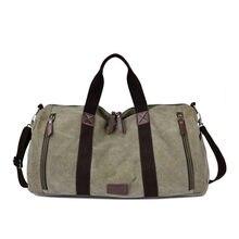 958f1f0b1c21 Брендовые мужские дорожные сумки большой емкости женские багажные дорожные  сумки мужские парусиновые большая сумка для путешествий