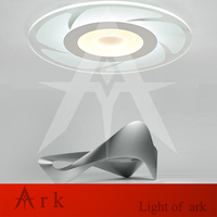 New Ultra Thin Modern LED Ceiling Lights Creative Arc Round Shape Acrylic Lamp Home Surface Mount
