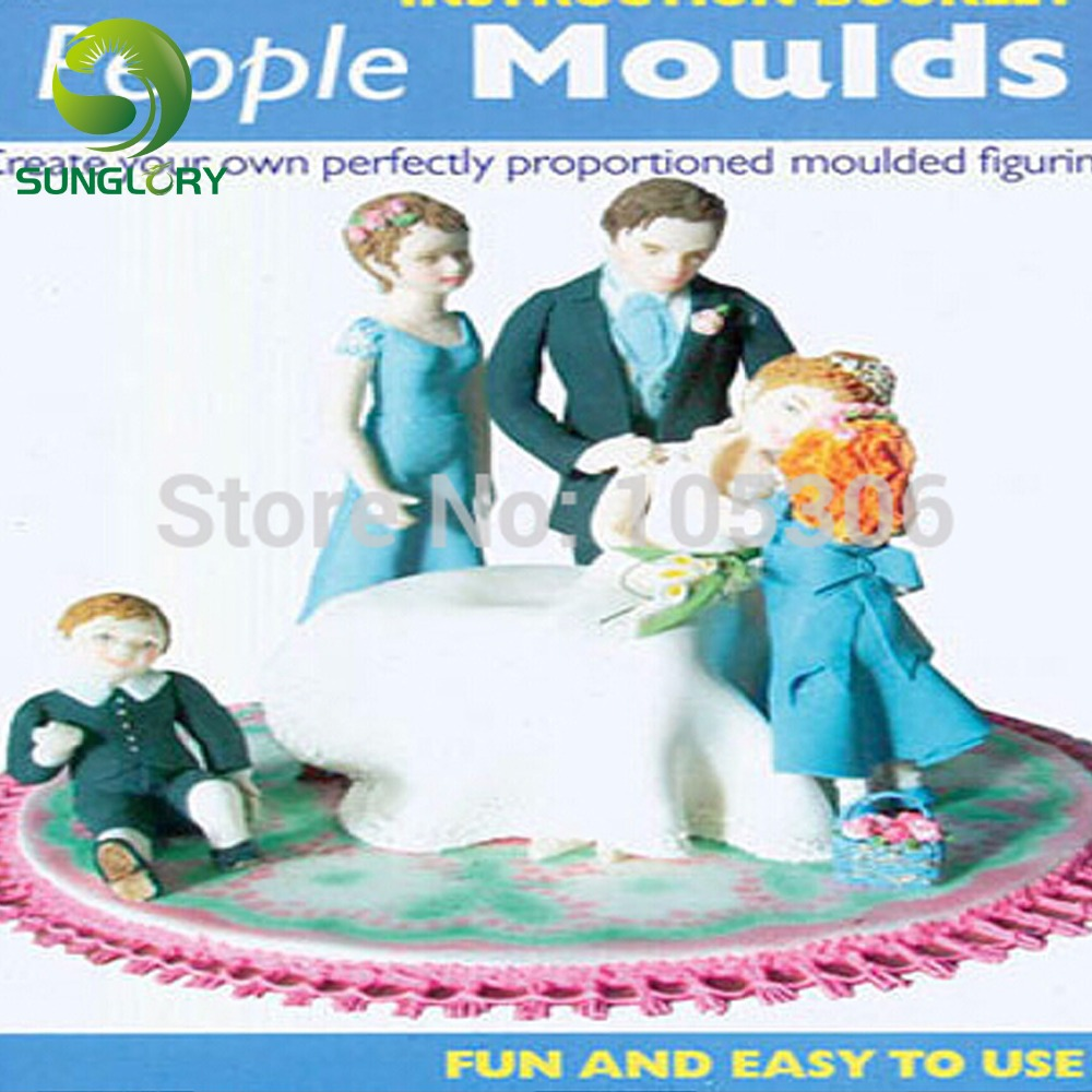People Decorating aliexpress : buy baking decoration fondant 3d people shaped