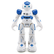 Fansaco Intelligent Voice Robot Dancing Toy Gesture Control RC Robot Action Figure Programming Birthday Gift For Kids Children 2 4g remote control bb 8 robot upgrade rc bb8 robot with sound and dancing action figure gift toys intelligent bb 8 ball toy 01