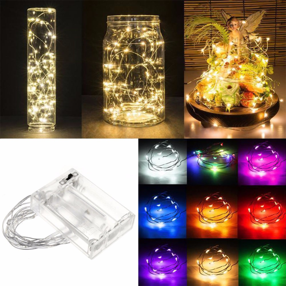 10x Warm White 10M//33FT Copper Wire 100LED String Party Decoration Light 5V USA