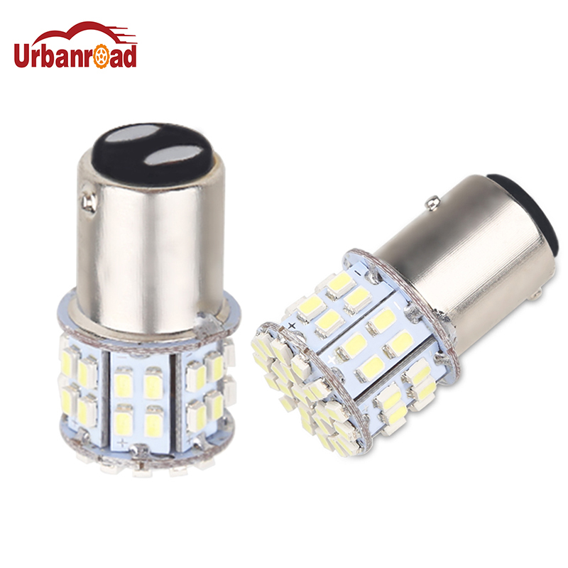 1pcs 1157 3020 <font><b>SMD</b></font> 50 Led Car Light BAY15D P21/5W Auto Brake Light Bulb Lamps Xenon for ford Car Styling White image