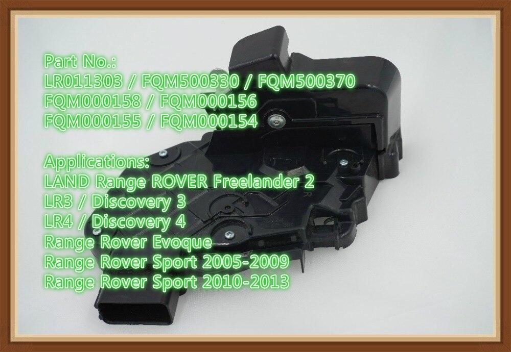 LR011303 New rear left car door latch for Evoque Freelander 2 Discovery 3 4 Range Rover