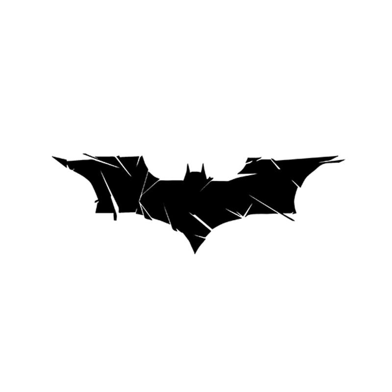 17.5CM*6CM Batman Evolution Bats Reflective Vinyl Die Cut Decal Car Sticker For Car Truck Window Bumper Motorcycle