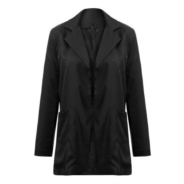 Ladies Blazer Women Autumn Winter Long Sleeve Office Coat Cardigans Suits Blazer Jacket women Autumn jacket 1