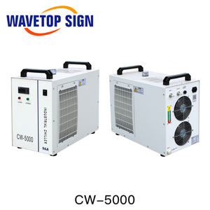 Image 2 - S & A CW5000 CW5200 CW5202 صناعة الهواء مبرد المياه ل CO2 آلة الليزر التبريد نك المغزل 80 واط 100 واط 130 واط 150 واط Co2 أنبوب الليزر