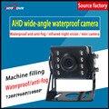 12V напряжение квадратная Автомобильная камера AHD720P мегапиксельная водонепроницаемая и противоударная частная машина/экскаватор/комбайн/Н...