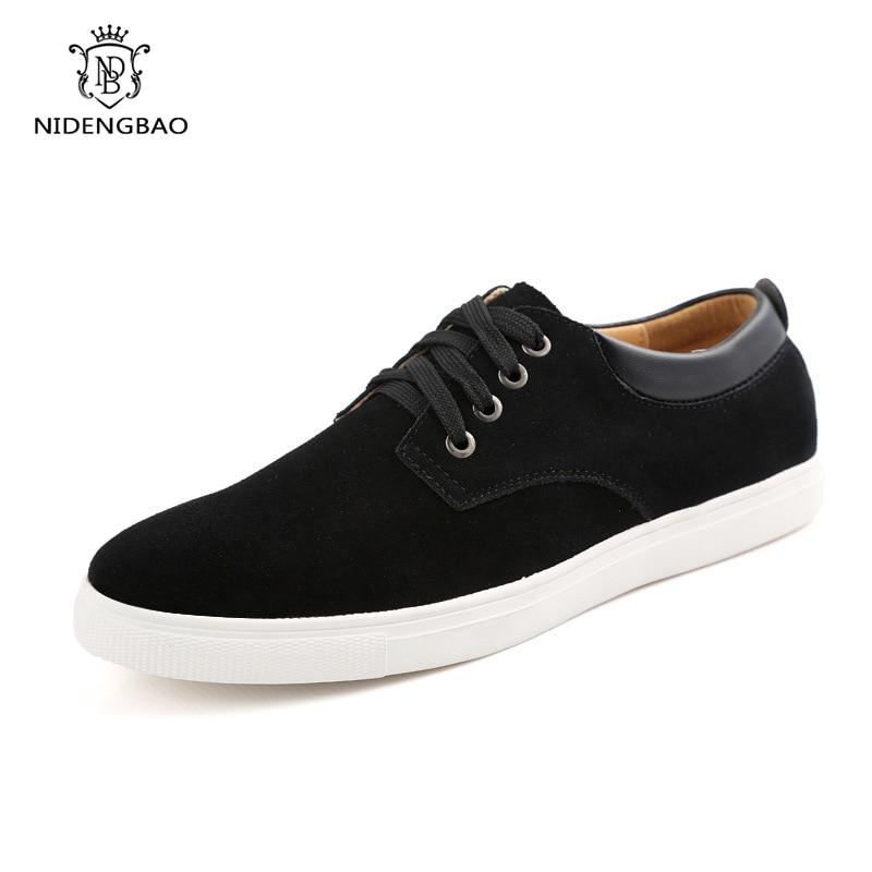 Повседневные мужские Оксфордские туфли, мужские замшевые лоферы, модные классические кроссовки, удобная обувь, большие размеры 48-49