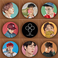 Youpop KPOP EXO EXACT Monster Lucky One Album Brooch K-POP Pin Badge Accessories For Clothes Hat Backpack Decoration HZ1506