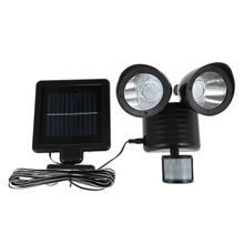 Outdoor Waterproof Energy Saving LED Solar Lamp for Street Yard Home Garden Power PIR Motion Light Wall