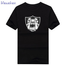 2017 Derek Carr Bulldog T-shirt 100% cotton tee short sleeve o-neck for fans T shirt 0906-3