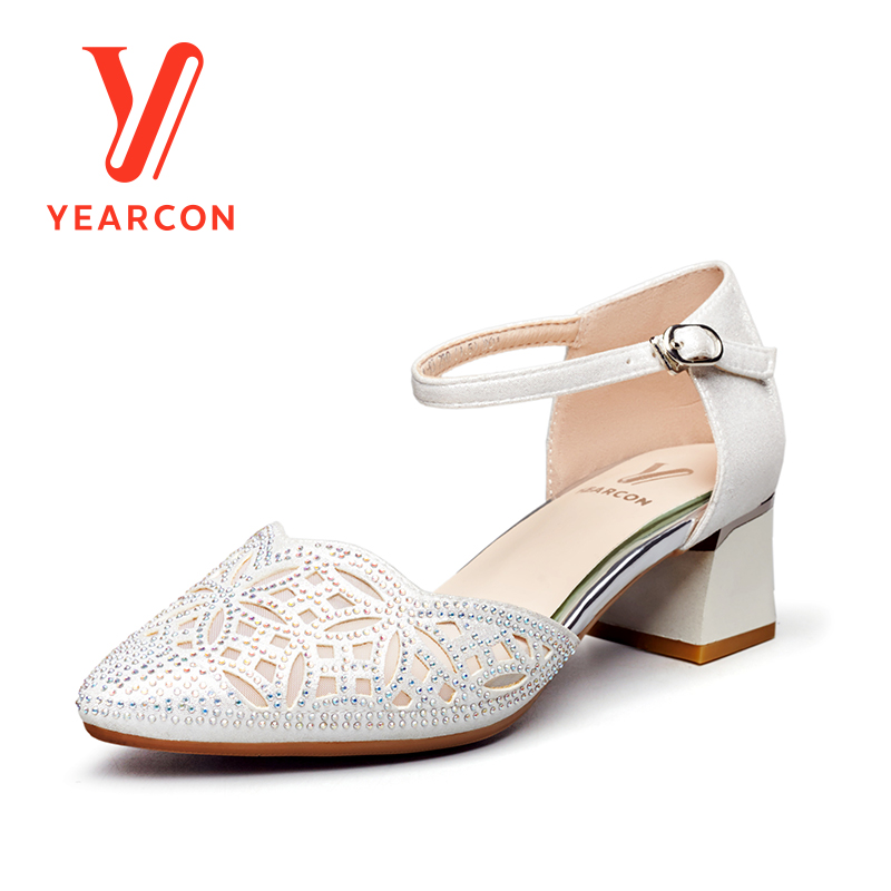 Women's High Heels Summer Sandals Simple Casual Slippers shoes Flip Flops 9151DR26044W