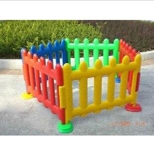 Jeu Parc Enfant barrière de sécurité en plastique Bébé Clôture Piscine À Balles Combinaison Intérieure En Plein Air Bébé Garde-Corps