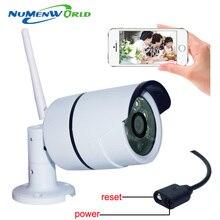 IP-камера WiFi 720P Беспроводная камера видеонаблюдения HD ИК ночного видения Мини -камера для системы наружной безопасности Системы видеонаблюдения