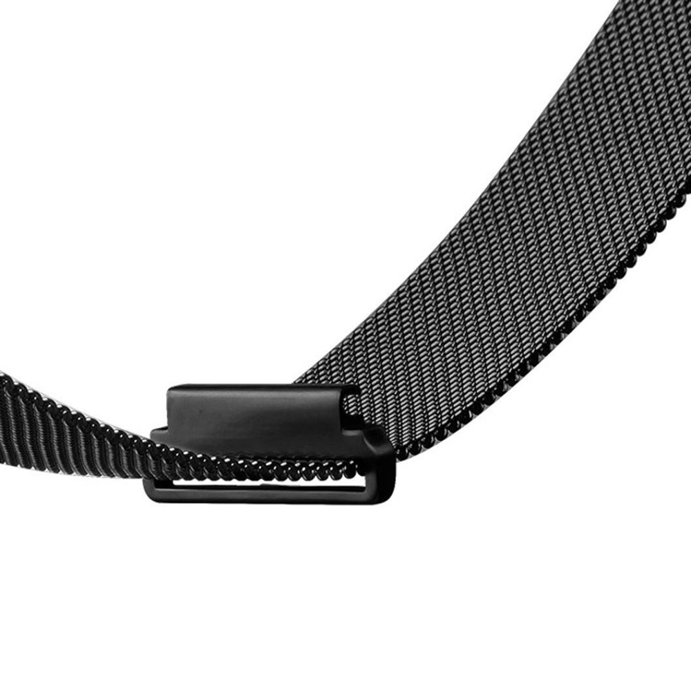 Milanese Loop Band Stainless Steel Watch Bracelet Replacement Strap For Pebble Time Round 20mm Bradley Timepiece Black Silver In Watchbands From Watches On