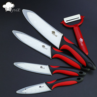 High Quality Kitchen Ceramic Knife Set 3 4 5 6 Inch White Blade Paring Fruit Vege