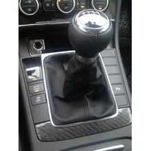 Chrome-Frame Passat 6-Gear-Shift-Knob 2005 5-Speed for with VW B6 CC 3C R36 2009 2006