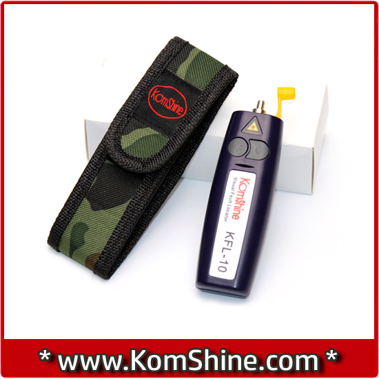 Komshine kfl-10-1 Визуальный дефектоскоп красный источник света Волокно оптоволоконного кабеля Тесты er Тесты инструмент 3-5 км