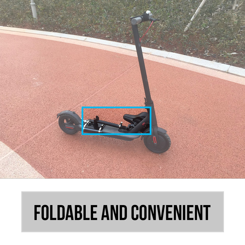 Electric Skateboard Saddle for Xiaomi Mijia M365 Scooter Foldable Height Adjustable Shock Absorbing Folding Seat Chair-in Bicycle Saddle from Sports & Entertainment    2