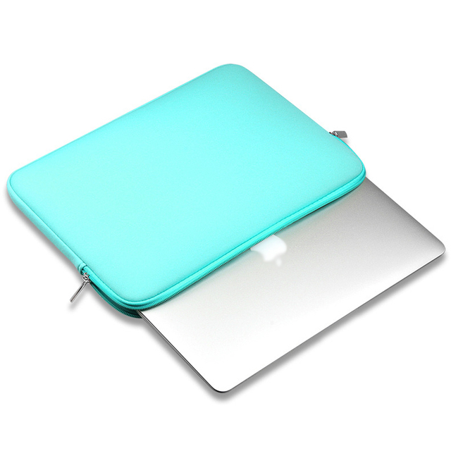 "2017 Soft Laptop Sleeve Case For Notebook Computer 11.6"" 13.3"" 14"" 15.4"" sleeve case For Macbook Air Pro 4"