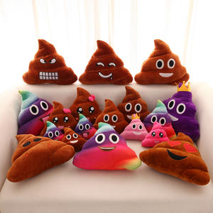 Poop-Pillow Plush-Toy Expression-Decoration Girl Gift Funny Cute Children's